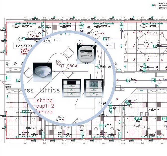 طراحی نقشه های سیستم های مدیریت هوشمند ساختمان
